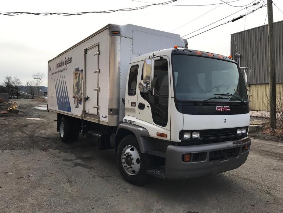 2005 Gmc T7500 Box Truck - Straight Truck