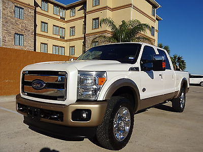 2012 Ford F-250 King Ranch 2012 Ford SuperDuty F-250 Pickup King Ranch 4x4 CrewCab 6.7L Turbo Diesel Engine