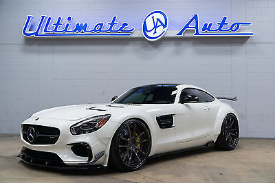 2016 Mercedes-Benz AMG GT S Widebody Prior Design Widebody w/Renntech Wing. AlphaOne Wheels. JL Audio Bass Package.