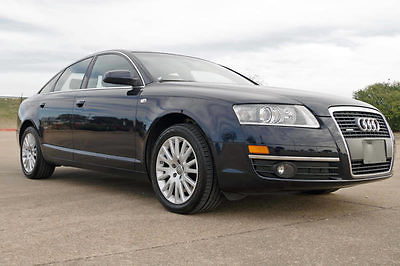 2006 Audi A6 3.2 2006 Audi A6 3.2 Quattro AWD, 79k Miles, Navigation, Leather, Moonroof, More!