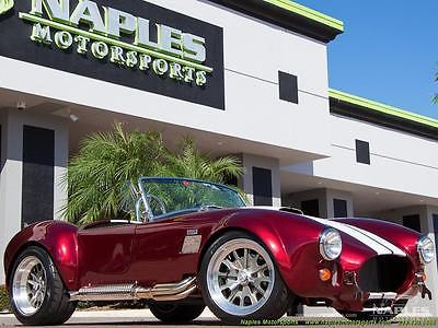 1965 Replica/Kit Makes  2016 replica backdraft racing shelby 427 5 spd manual chrome package