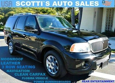 2003 Lincoln Navigator Base Sport Utility 4-Door 2003 Lincoln Luxury