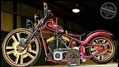2013 Custom Built Motorcycles Bobber  Custom Big Wheel 30