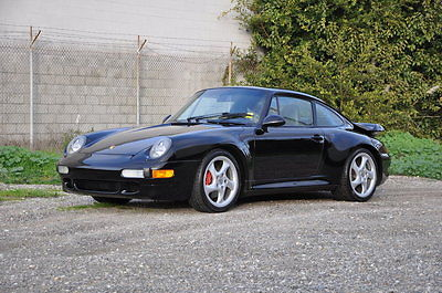 1996 Porsche 993 Turbo Coupe 2-Door 1996 Porsche 993 Twin Turbo Black/Black