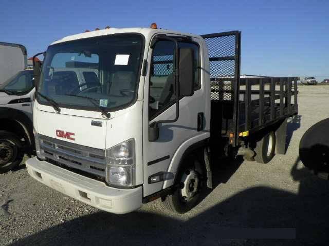 2007 Gmc W3500 Flatbed Truck