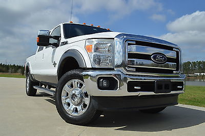 2012 Ford F-250 Lariat 2012 Ford F-250 Crew Cab Lariat FX4 Diesel Navigation Bed Cover Clean!!