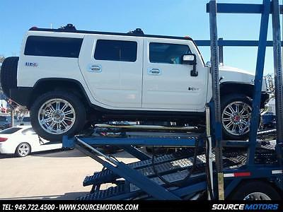 2008 Hummer H2 Base Sport Utility 4-Door 2008 Hummer H2 Luxury  XD Wheels, DVD, Navigation, Moonroof, 8K miles