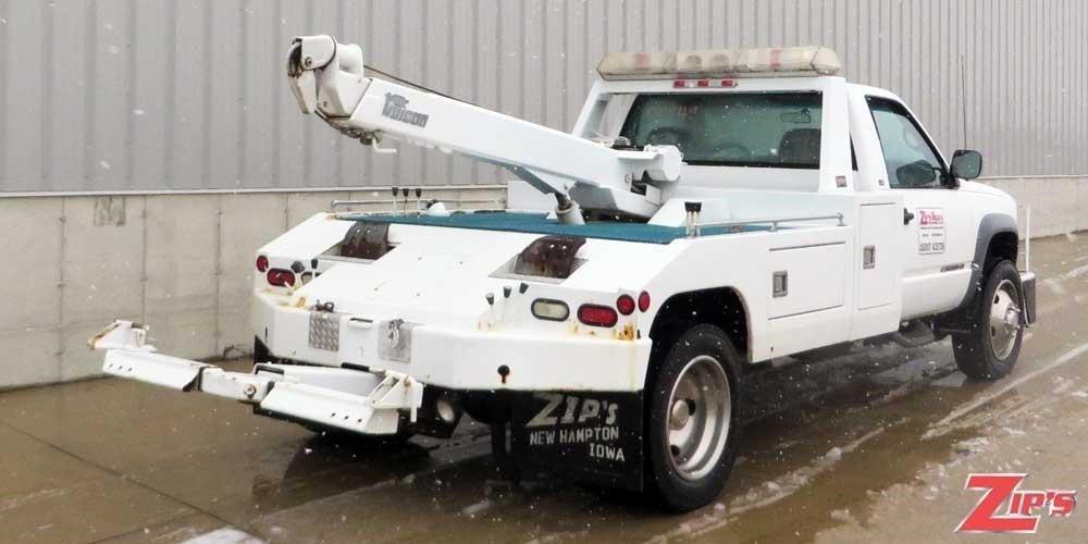 2002 Chevrolet Silverado 3500 Wrecker Tow Truck