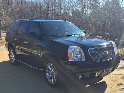 2008 GMC Yukon Denali Sport Utility 4-Door low mile denali free shipping warranty clean carfax loaded luxury 4x4 cheap