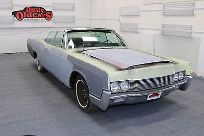 1966 Lincoln Continental Runs Drives Body Int Need Finish 460V8 1966 Yellow Runs Drives Body Int Need Finish 460V8!