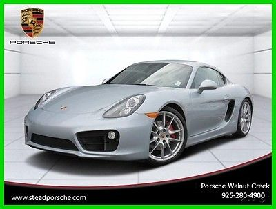 2014 Porsche Cayman S 2014 S Used Certified 3.4L H6 24V Manual RWD Coupe Premium