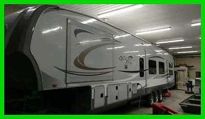 2012 Open Range 427 BHS 41' Fifth Wheel 5 Slides A/C King Bed Central Vacuum MN