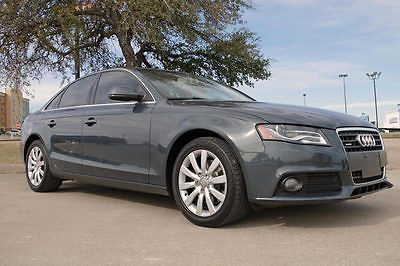 2009 Audi A4 Base Sedan 4-Door 2009 Audi A4 2.0T Quattro Premium Plus, Moonroof, CD Changer, More!