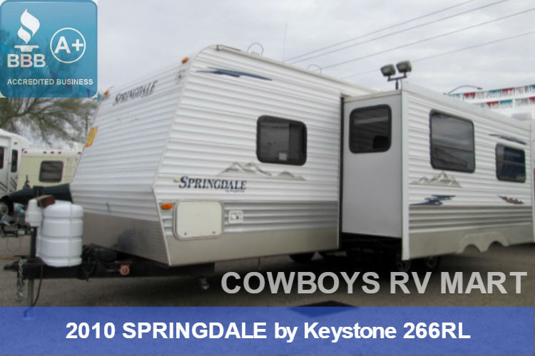 2010 Keystone SPRINGDALE 266RL