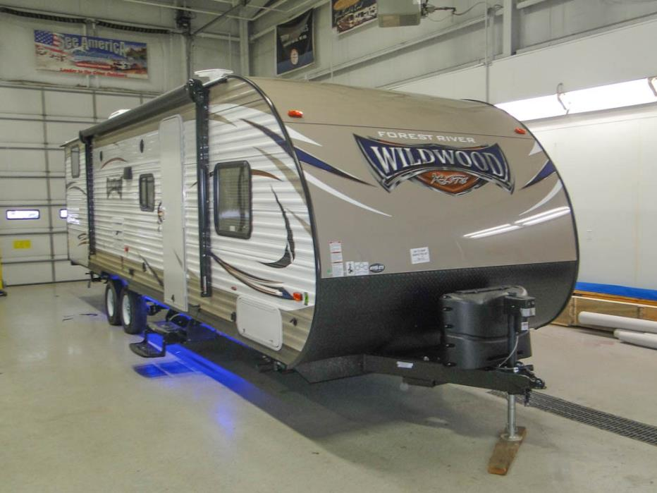 2017 Forest River Wildwood X-Lite 282QBXL Bunk House