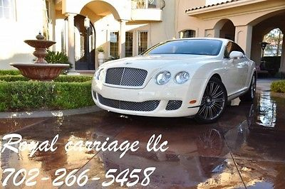 2008 Bentley Continental GT GT Speed Coupe 2-Door 2008 Bentley Continental GT cpe Speed