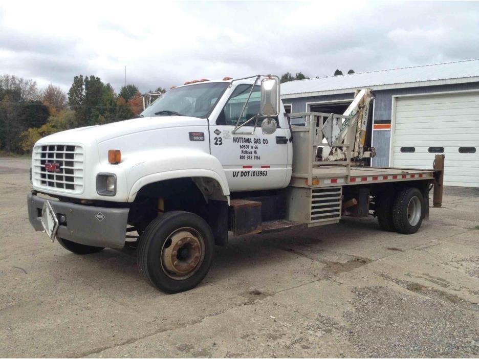 2002 Gmc C6500  Bucket Truck - Boom Truck