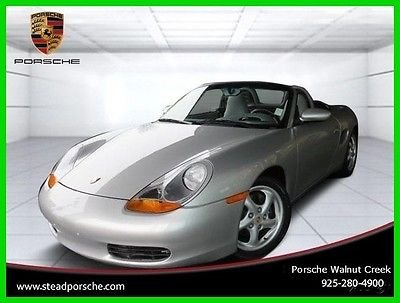 1999 Porsche Boxster Base Convertible 2-Door 1999 Used 2.5L H6 24V Manual RWD Convertible Premium