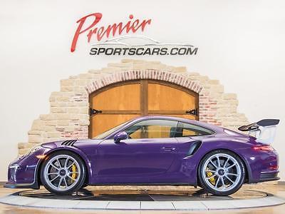 2016 Porsche 911 2016 Porsche 911 GT3 RS 99 Miles