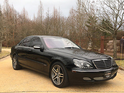 2006 Mercedes-Benz S-Class 66 k low mile s 600 free shipping warranty v 12 luxury collector rare clean carfax