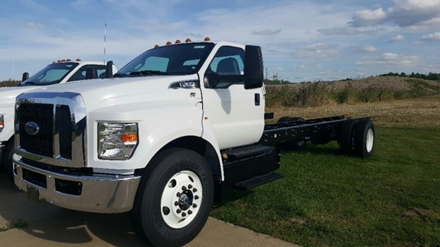 2017 Ford F-650 Cab Chassis