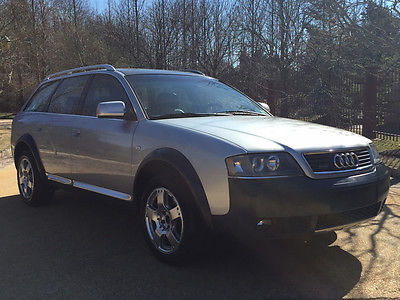 2001 Audi Allroad Base Wagon 4-Door low mile free shipping warranty clean carfax dealer serviced awd luxury wagon