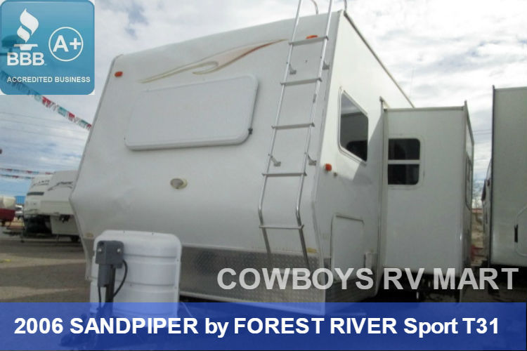 Sandpiper By Forest River 2006 Vehicles For Sale
