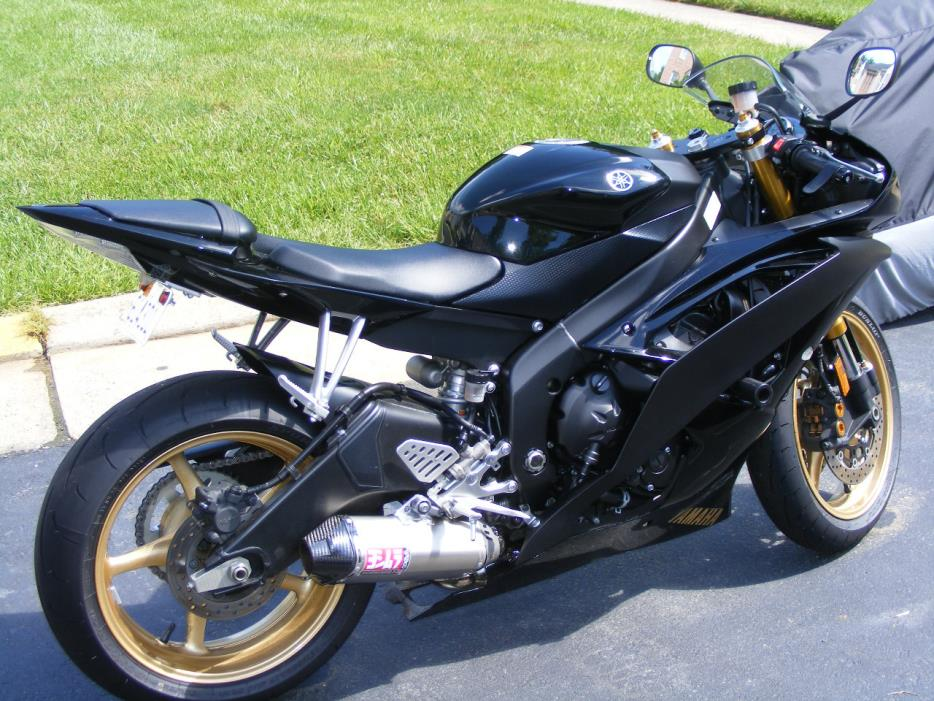 yamaha yzf r6 motorcycles for sale in stafford virginia. Black Bedroom Furniture Sets. Home Design Ideas