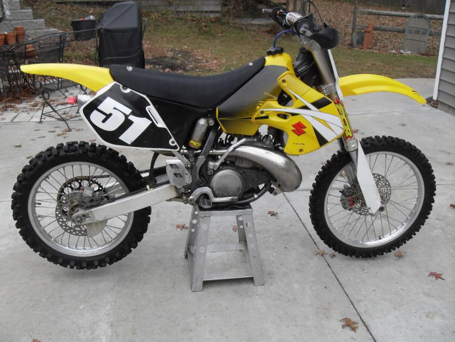 suzuki rm250 motorcycles for sale
