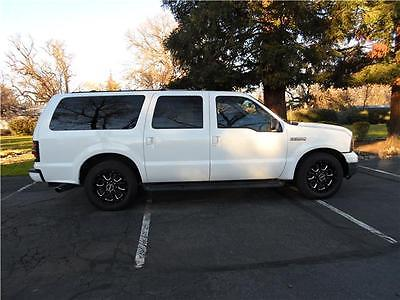 2001 Ford Excursion Limited 2001 Ford Excursion Limited 151,481 Miles White Sport Utility Diesel 8 Cylinder