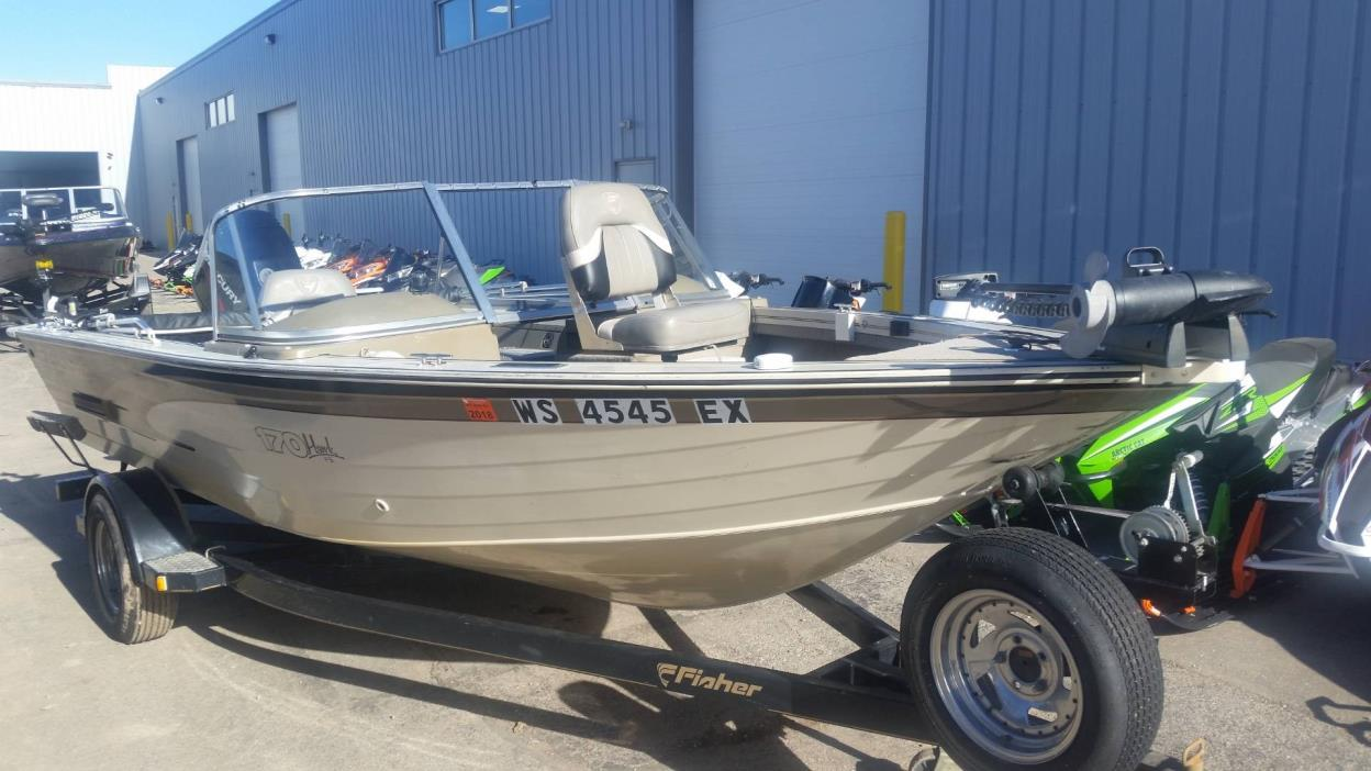 2000 Fisher Hawk 170 SC/FS