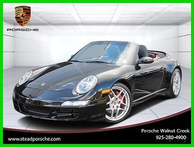 2007 Porsche 911 2dr Cabriolet Carrera 4S 2007 2dr Cabriolet Carrera 4S Used 3.8L H6 24V Manual AWD Premium