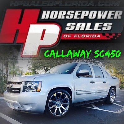 2013 Chevrolet Avalanche BLACK DIAMOND CALLAWAY SC450 SUPERCHARGED!!!!! 2013 Chevrolet AVALANCHE CALLAWAY SC450 SUPERCHARGED