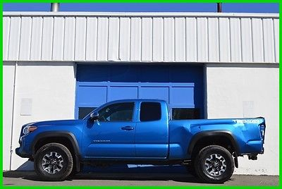 2016 Toyota Tacoma TRD Off Road Access Cab Extended Cab 4X4 4WD Navi Repairable Rebuildable Salvage Lot Drives Great Project Builder Fixer Easy Fix