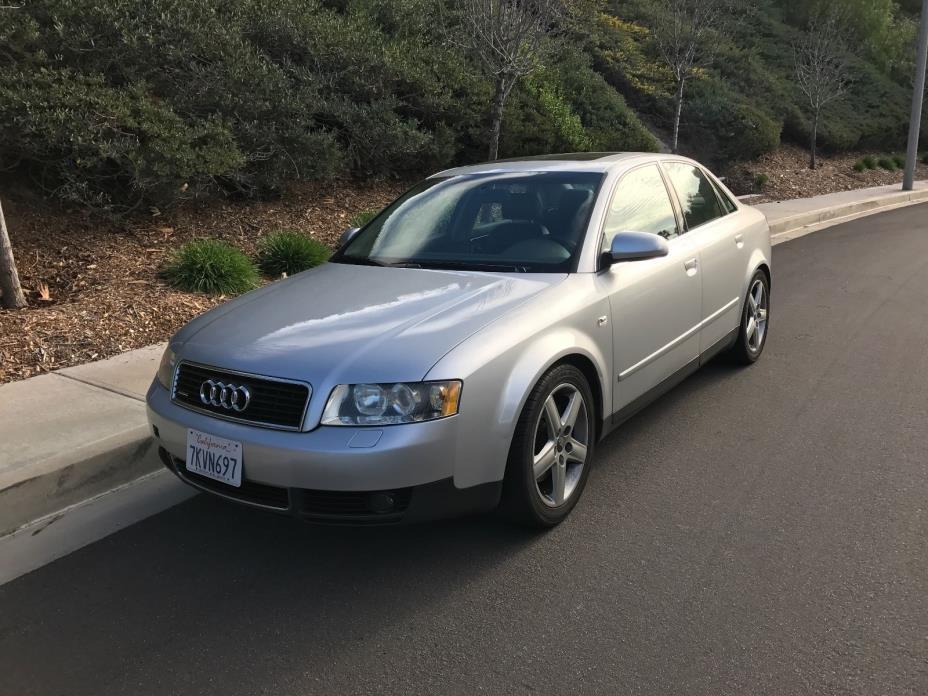 2002 Audi A4 Luxury Sport Sedan 4-Door 2002 Audi A4 Quattro Sedan 4-Door 3.0L