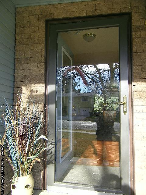 Storm Door with screen
