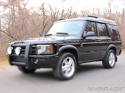 2004 Land Rover Discovery HSE7 2004 LAND ROVER DISCOVERY IIA HSE7 ... 83,987 Original Miles 7 PASSENGER