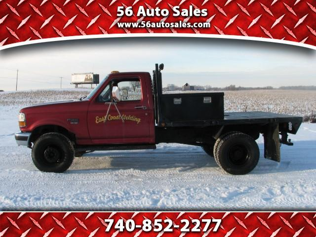 1997 Ford F-450 Flatbed Truck