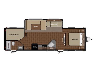 2012 Keystone Rv Springdale 282BHSSRWE
