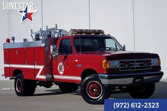 1990 Ford Fire Brush Truck 7.3l Diesel Fire Truck