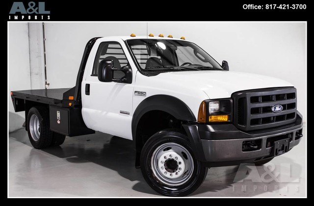 2007 Ford Super Duty F-550 Drw  Flatbed Truck