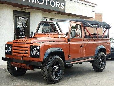 1989 Land Rover Defender *** 1989 LAND ROVER DEFENDER 110 CONVERTIBLE * 3.5 LITER V8 GAS ENGINE ***