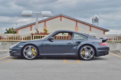 2007 Porsche 911 997 Turbo Coupe 2 Door Carbon Ceramic Brakes - AWD - 21K Miles - 6 Speed Coupe - California Car