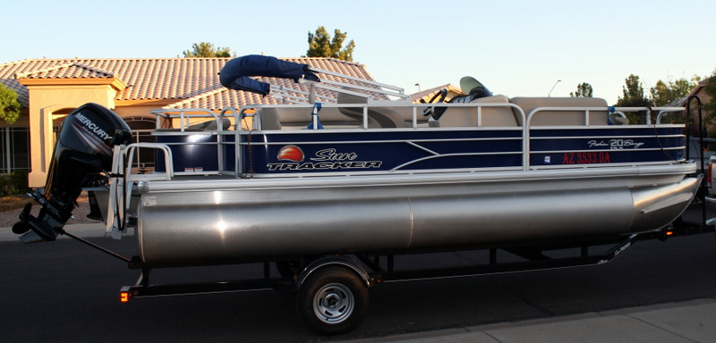 2016 Sun Tracker 20 Party Barge