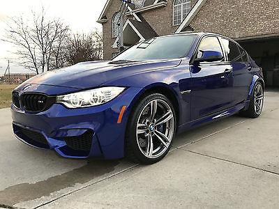 2015 BMW M3 Base Sedan 4-Door 2015 BMW M3 | 16,500 Miles | Rare color | Lots of Options - Excellent Condition!