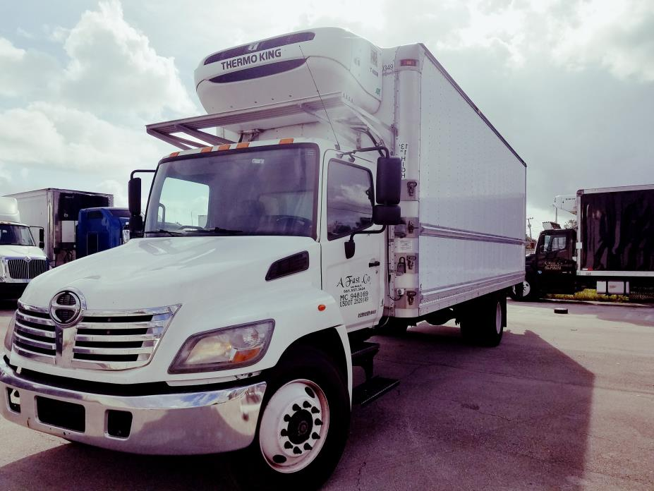 2010 Hino 238  Refrigerated Truck