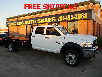 2014 Ram 4500 HEAVY DUTY 4X4 FLATBED 2014 Ram 4500 Heavy Duty 4X4 Flatbed Crew Cab