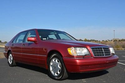 1995 Mercedes-Benz S-Class S420 V Long Wheel Base 1995 Mercedes S420 V LWB 2 Owners Driven Only 6,000 Miles Per Year Since New!