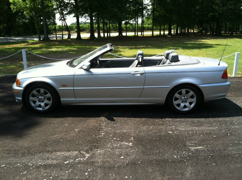 2001 BMW 3 Series 325Ci 2dr Convertible