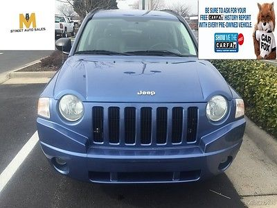 2007 Jeep Compass Compass- similar to Cherokee/ Commander/ Liberty **LOW LOW MILES**Jeep Compass 2.4L engine 4X4 4WD SUV ~CLEAN CARFAX CLEAN TITLE~